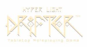Hyper Light Drifter Tabletop Roleplaying Game Logo